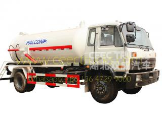Dongfeng 10,000L vacuum tanker truck