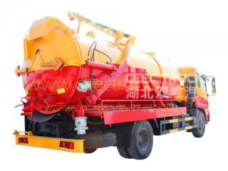 Low price 10,000L Cesspit emptier truck