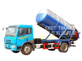 FAW 10,000L Cesspit emptier vehicle for sale