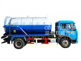 FAW 10,000L Cesspit emptier vehicle on sale