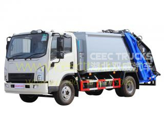 FAW 5000L refuse compactor truck