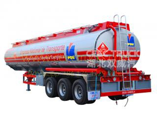 2018 designed 40cbm Fuel Tanker Trailer for sale