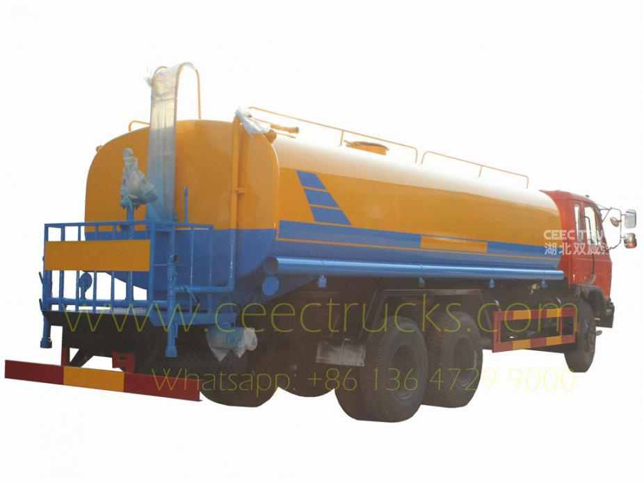 Dongfeng 20CBM water tanker truck for sale