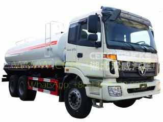 Low price FOTON 20CBM Fuel tanker truck