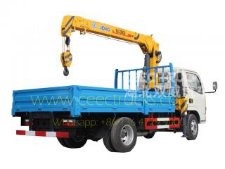 DONGFENG 3.2T truck mounted crane hot sale
