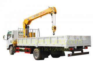 HOWO 5 T crane truck for sale