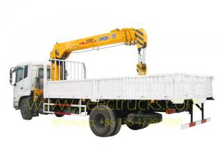 DONGFENG 8T boom crane trucks for sale