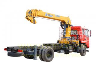 10T mobile boom crane trucks Dongfeng brand