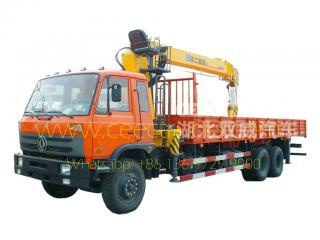 Telescopic 14T mounted boom crane trucks