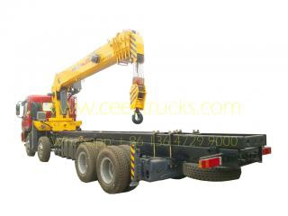 20 tons mobile boom crane lorry Dongfeng