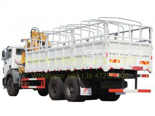 beiben 5 Tons knuckle crane mounted trucks for sale