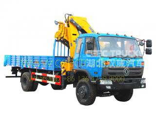 DONGFENG 10 Tons Mounted knuckle crane trucks