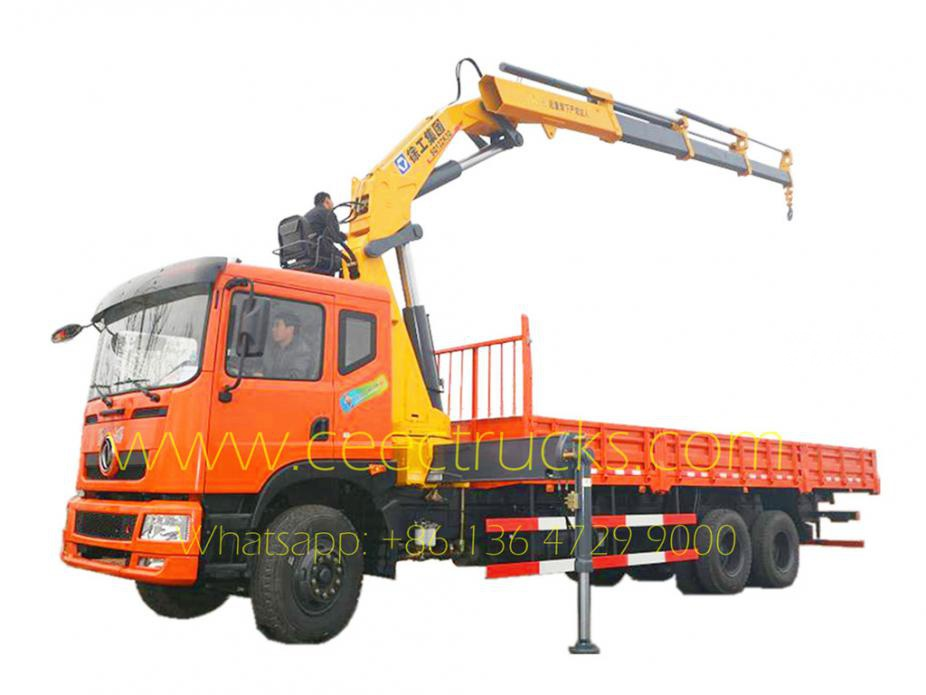 16 T knuckle boom crane dongfeng