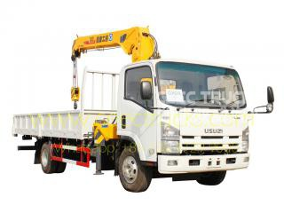 TOP quality ISUZU 5 T truck crane for sale