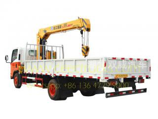 ISUZU 5 T truck mounted crane for sale
