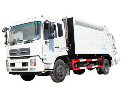 Rubbish Compactor Truck Dongfeng