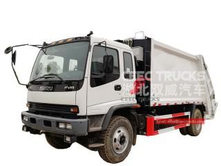12 CBM garbage collection truck ISUZU - CEEC