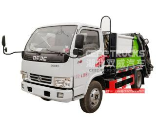 3CBM Garbage compactor truck DONGFENG - CEEC