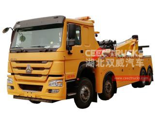 25Tons Road Wrecker HOWO - CEEC