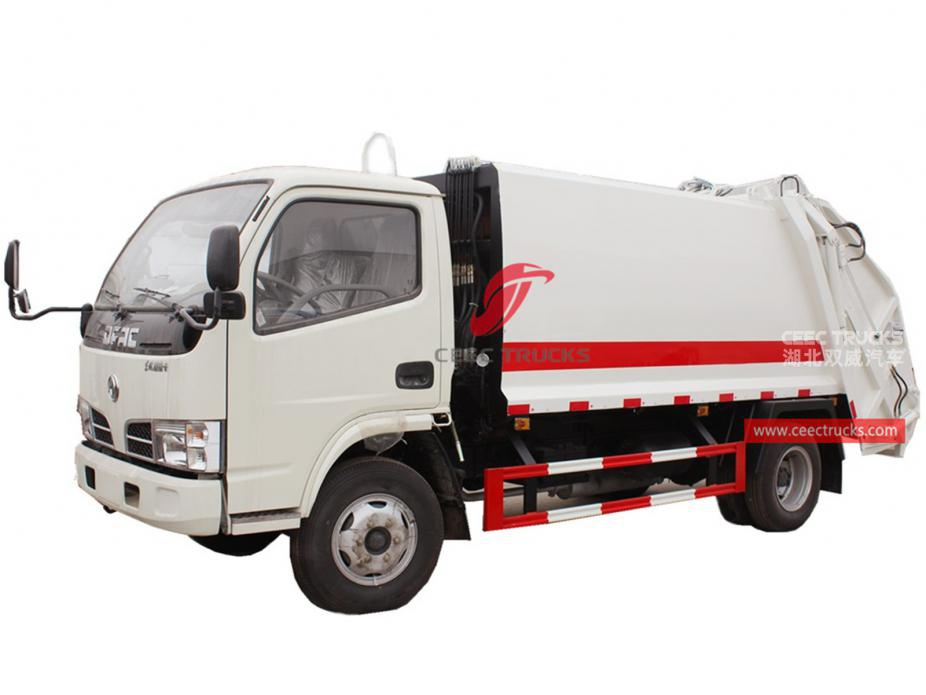 DONGFENG 4000Liters refuse compactor truck
