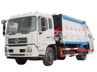 14CBM Rubbish Compactor Truck Dongfeng - CEEC