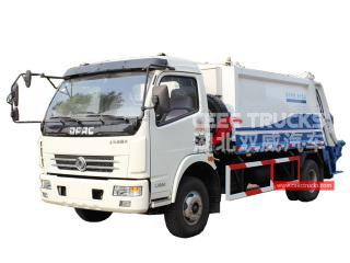 7CBM Rear Loader Compactor Dongfeng - CEEC