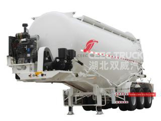32CBM 3-axle Bulk Powder Trailer - CEEC
