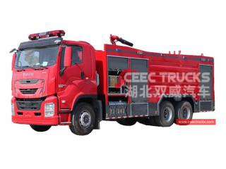 10,000L Dry Powder Fire Truck-CEEC TRUCKS