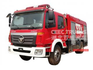 5,000L firefighting truck FOTON - CEEC