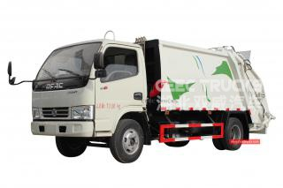 DONGFENG 5000Liters refuse compactor truck