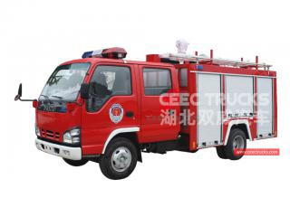 ISUZU 600P Firefighting truck - CEEC