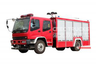 ISUZU FVR Emergency Rescue Fire Truck - CEEC