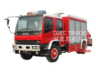 ISUZU FVR Rescue Truck With Crane - CEEC