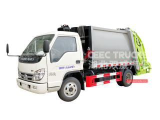 FOTON 4000Liters waste compactor truck