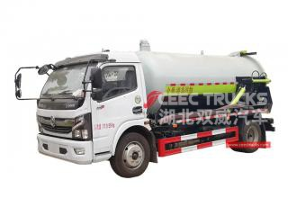 8,000 Litres Vacuum Sewage Suction Truck DONGFENG - CEEC