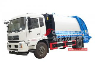 Dongfeng 10CBM Compressed Waste Truck - CEEC