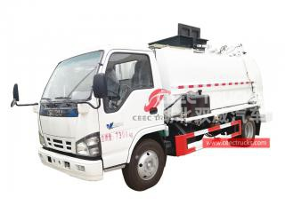 6,000L Kitchen Waste Collection Truck ISUZU - CEEC