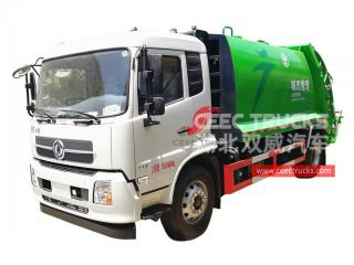 Dongfeng 12CBM Refuse Compreesion Truck - CEEC