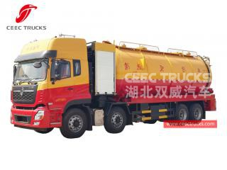 10+18 CBM Combined Jetting Vacuum Truck DONGFENG - CEEC
