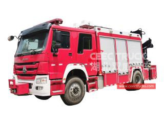 HOWO Emergency Rescue Fire Truck - CEEC