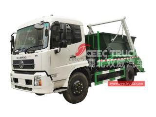 Dongfeng RHD Swing arm refuse truck - CEEC