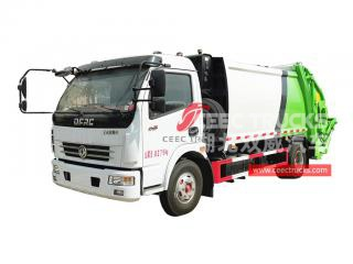 Dongfeng 6CBM Refuse Compactor Truck - CEEC