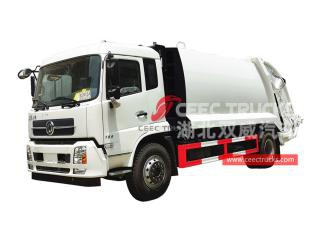 Dongfeng 10CBM Compressed Refuse Truck - CEEC