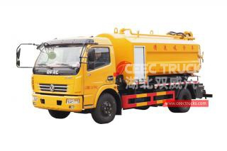 Dongfeng 6CBM Combined Jet adn Suction Truck - CEEC