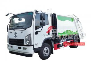 6CBM Compression garbage truck Shacman - CEEC
