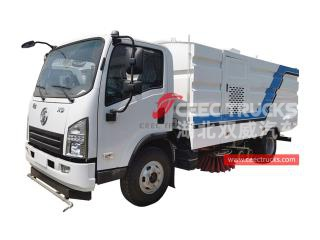 Shacman Road sweeper and washer truck - CEEC
