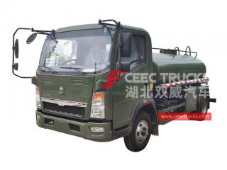 HOWO 3CBM Water spraying truck - CEEC