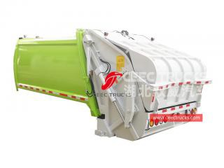 european standard 6,000 liters refuse compactor truck body structure