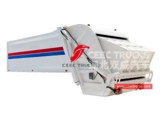 european standard 20,000 liters refuse compactor truck upper body