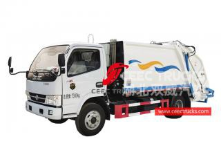 Dongfeng 6CBM Back Loading Garbage Truck - CEEC